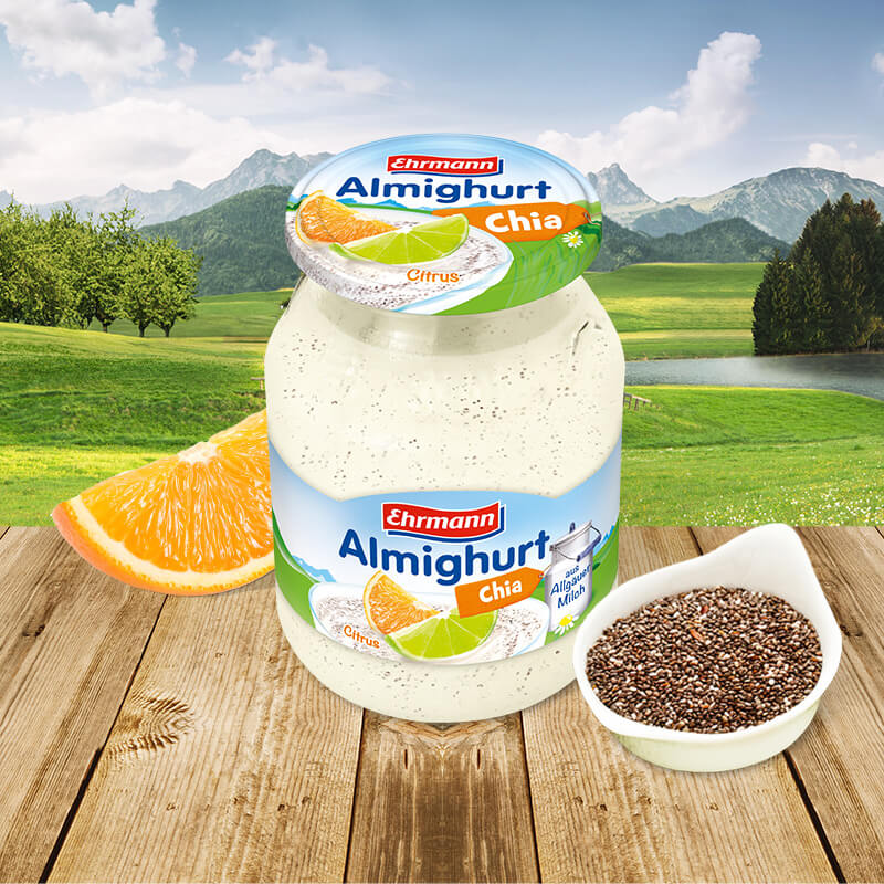 Superfood – Super-good! Almighurt in zwei<br>neuen trendigen super-leckeren-Sorten