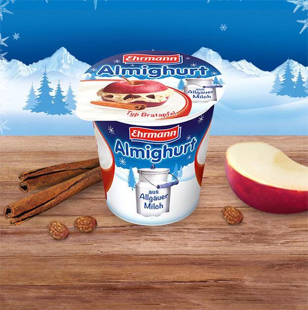Die Almighurt Wintersorten:<br>Ein Genuss für die kalte Jahreszeit!