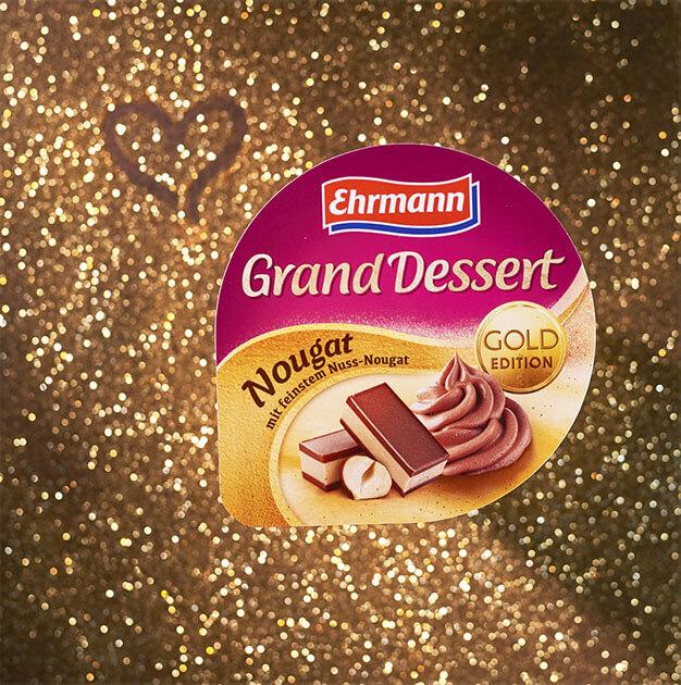 Mit Grand Dessert Nougat jede Woche<br>goldene Momente gewinnen!