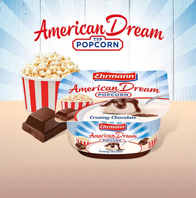 Ein traumhaftes Dessert für alle,<br>die American Food lieben.
