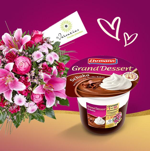 Mit Grand Dessert ein Jahr voller Blumen gewinnen!