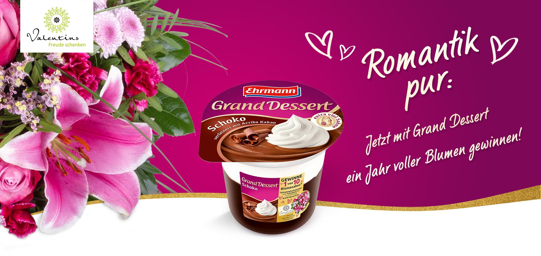 Grand Dessert Valentinstag Ehrmann Ag